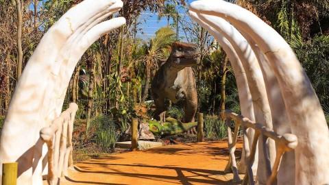 Conheça o Vale dos Dinossauros de Olímpia SP