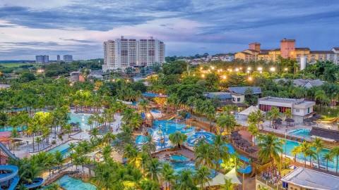Férias de Janeiro em Olímpia SP no Wyndham Olimpia Royal Hotels
