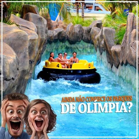 Imagem representativa: Conheça os parques aquáticos em Olímpia